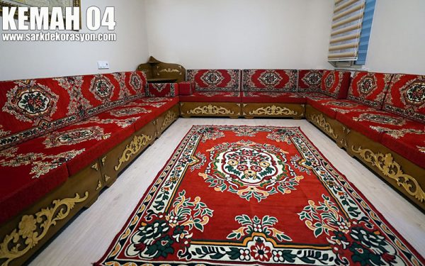 Ottoman sofa wooden