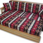 Yataklı ahşap kanepe
