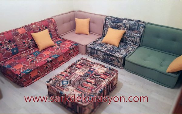 large floor pillows Turkish
