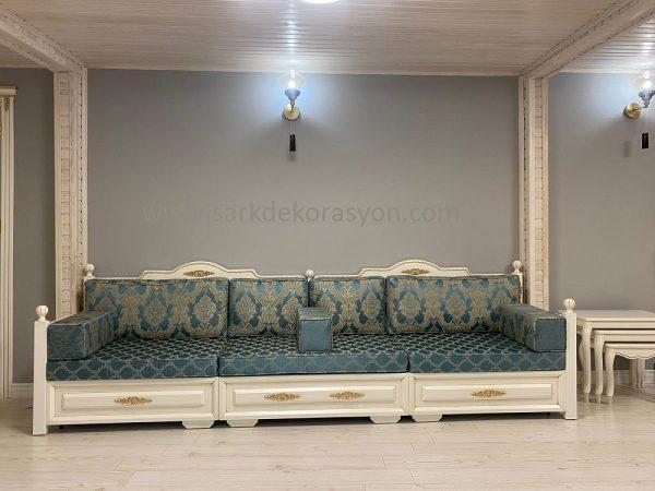 Osmanlı ahşap sedir koltuk modelleri